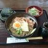 穂の香 - 料理写真:揚げとうふそばセット  780円