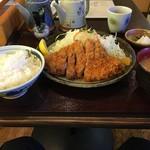 もり亭 - 上ロースカツ定食(1,450円)