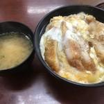 ひばり食堂 - ミニかつ丼(税込500円)