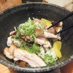 鳥貴族 - 料理写真:焼鳥丼(2016.9.19)