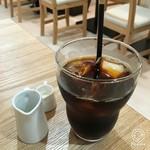 カフェ&パンケーキ gram - アイスコーヒー(セットで250円)