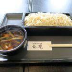 長庵 - 料理写真:若鶏(更科そば、950円)