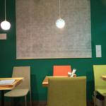 まめなカフェ - 店内