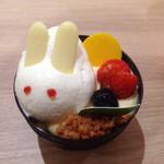 シャトレーゼ - 料理写真:うさ子ちゃん はプリンです╰(*´︶`*)╯♡