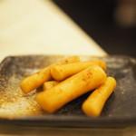 近江屋清右衛門 - 料理写真:おつまみの牛蒡の漬物