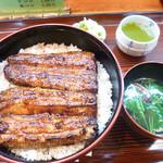 うなぎの甚八 - 鰻丼