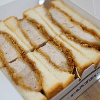 かつサンド工房 PANTON - 料理写真:ロースかつサンド 2016.09.29