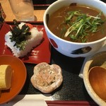 薩摩うどん - カレーうどんセット