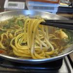 元祖博多麺もつ屋 - もちもち麺