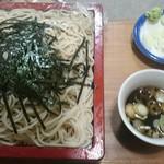 福本そば - 料理写真:ざる蕎麦 美味い!