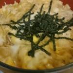 福本そば - 料理写真:親子丼