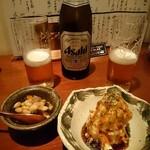 食堂 ニコラ - 五目煮と醤油だれのポテサラ