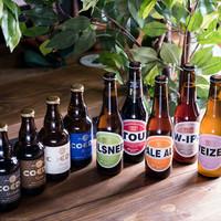 国内外30種類以上の豊富なクラフトビール!