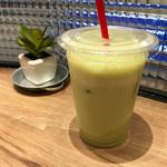 ダテ カフェ オーダー - 冷し甘酒・抹茶