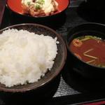 米寅 - ご飯と赤だし