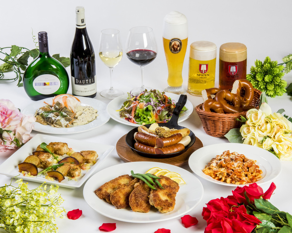 ドイツ直送ソーセージ盛り合わせorドイツ料理の王様アイスバイン1,000円割引!