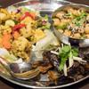 エリックサウス - 料理写真:2016.9 スンダル、茄子のアチャール、彩り野菜のポリヤル