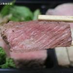 カンティーヌ・マシュー - ちがさき牛のステーキ