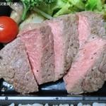 カンティーヌ・マシュー - ステーキは塩胡椒のみで肉の旨味で勝負のタイプ