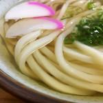 山神うどん - 綺麗な麺ですよっ