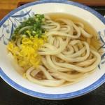 兼平屋 - かけうどん(*´д`*)240円
