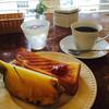 ボワード - 料理写真:ブレンドコーヒー400円とサービスモーニング