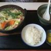与左衛門 - 料理写真:ちゃんこ定食  ¥1,300