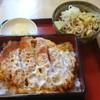 あかし庵 - 料理写真:カツ丼(上)