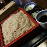 やぶ久 - 料理写真:せいろ(750円)2016年9月