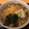 かのや - 料理写真:たぬき蕎麦 350円
