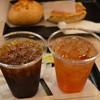 ルパ - ドリンク写真:アイスコーヒーとアイスティー