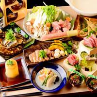 《選べるメイン鍋料理》真鯛or国産鶏