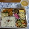 丸菱弁当 - 料理写真:丸菱弁当(味噌汁付き) 650円
