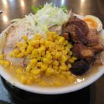 手打ち麺処 暁天 - 肉コクたん麺