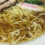 娘娘 - 中華そばの麺