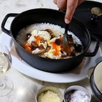 フランス製鉄鍋 STAUB炊き トリュフ卵がけご飯