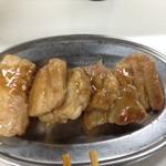 もつ焼き丸昌 - 料理写真:トンテキ