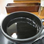 丸の内 CAFE 会 - ドリップコーヒー(タリーズ ブラジル ファゼンダバウ)アップ