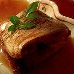 プチホテル コリンシアン - 夕食⑤;鰊煮付.チト甘めかな(^^;)ゞ @2016/09/18