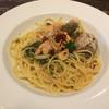 蔵deパスタ - 料理写真:あおさとエビのペペロンチーノ