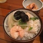 一品香 - 料理写真:海の幸と野菜ごはん完成