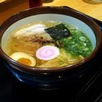麺屋 藤 - 阿波地鶏塩らぁ麺
