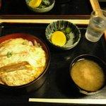 栄家 - カツ丼