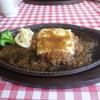レストラン 祭太鼓 - 料理写真:チーズハンバーグ(200g)