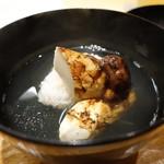 56876650 - ☆煮物椀…鱧&松茸(#^.^#)☆