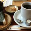 おかげ庵 - 料理写真:モーニングのおにぎりセット