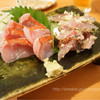 おおはま - 料理写真:金目鯛と鯵のたたき