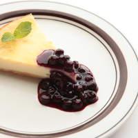 イナズマ カフェ - ベイクドチーズケーキ