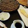 手打蕎麦いちむら - 料理写真:十割せいろ 800円 + 海老天 250円