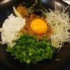 鶏冠 - 料理写真:台湾まぜそば(追いめし付):750円